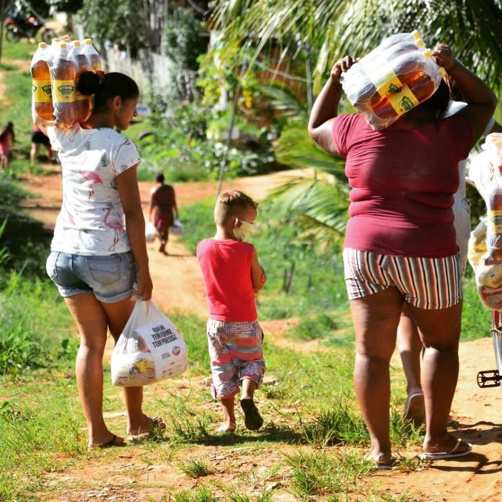 Dia das boas ações 2021 no combate à fome